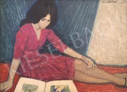 Czene, Béla jr. - Reading Girl, 1965