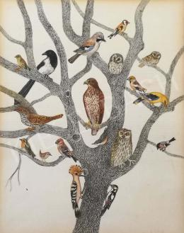 Berki Viola - Madarak a fán