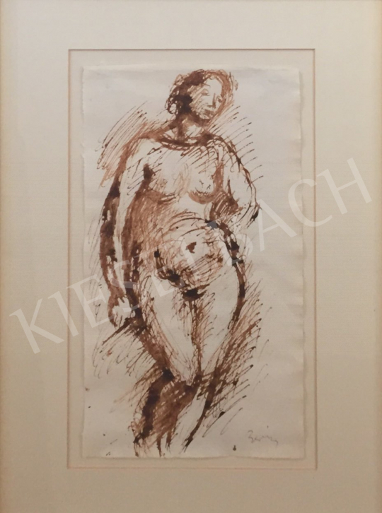 For sale Berény, Róbert - Standing Female Nude 's painting