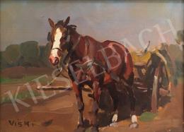 Viski János - Ló egy nyári délutánon