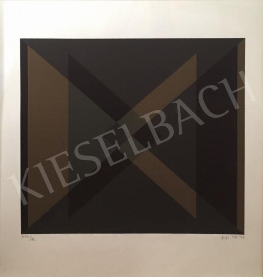 For sale  Fajó, János - Gray brown black 's painting