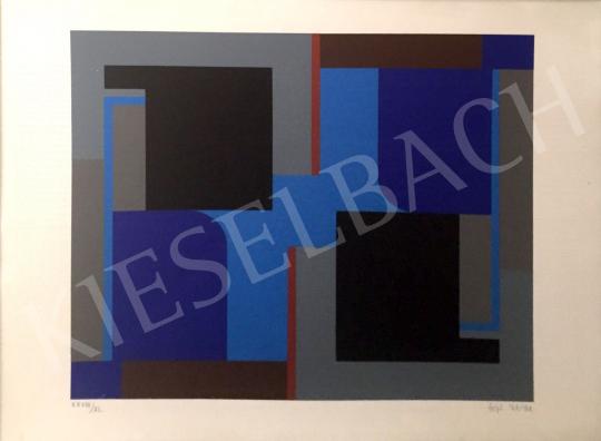 Fajó János - Kék Piros festménye