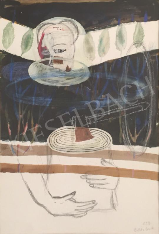 For sale  Bukta, Imre - Man with ax, 1999 's painting
