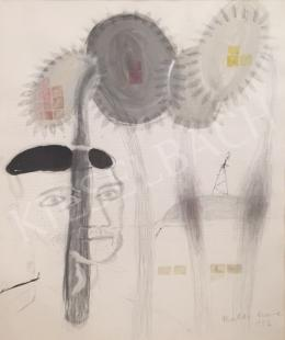 Bukta, Imre - Man with sunflowers, 1993