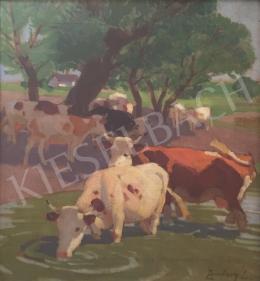 Zombory Lajos - Ivó tehenek
