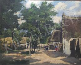 Berkes, Ilona - Village Street, 1926