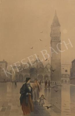Unknown painter - Venetian Saint Mark square