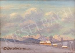 Katona Nándor - Tátrai táj télen