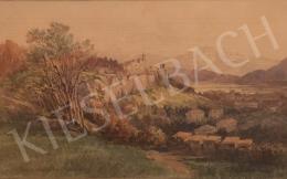 Ferdinand Mühlbacher - Várkastély (Mönchsberg), 1904