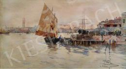 Pálla, Jenő - The Venetian Lagoon