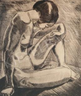 Dési Huber István - Lányakt, 1927