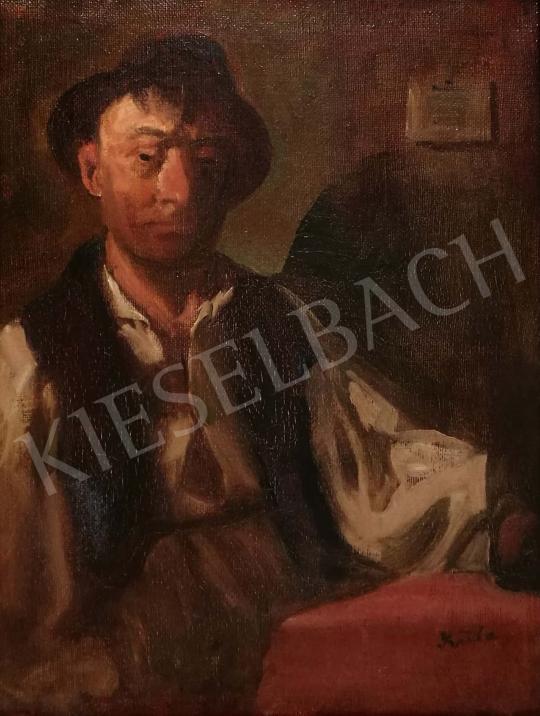 For sale Szüle, Péter - Boy at Table 's painting