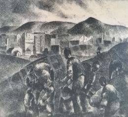 Tihanyi, János Lajos - Suburban Detail