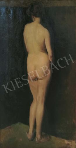 Pándy, Lajos - Standing woman nude