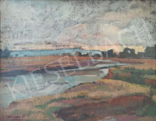 For sale Krizsán, János - Nagybánya meadow 's painting