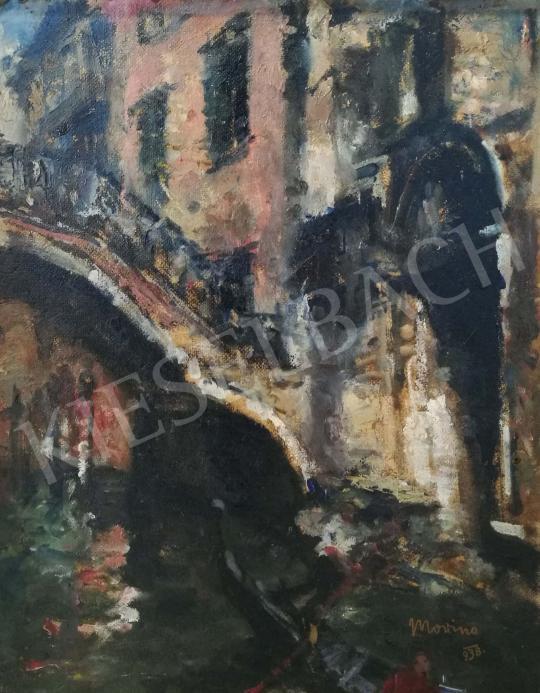 Eladó Morinyi Ödön - Velence, 1938 festménye