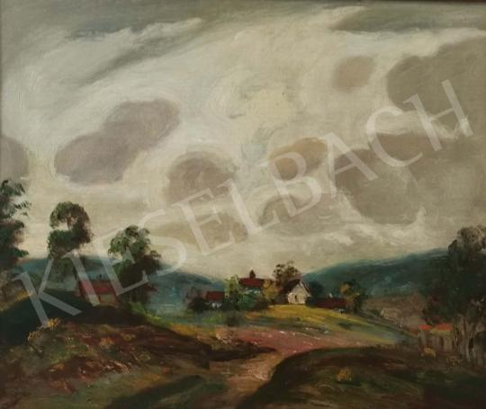 For sale  Magyar Mannheimer, Gusztáv - Cloudy Landscape  's painting