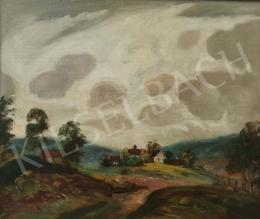Magyar Mannheimer, Gusztáv - Cloudy Landscape