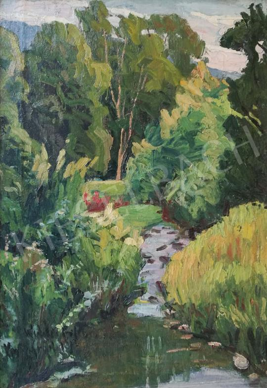 For sale Widder, Félix - Forest Stream 's painting