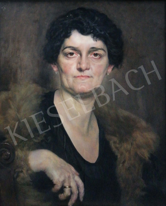 For sale  Karlovszky, Bertalan - Old lady 's painting