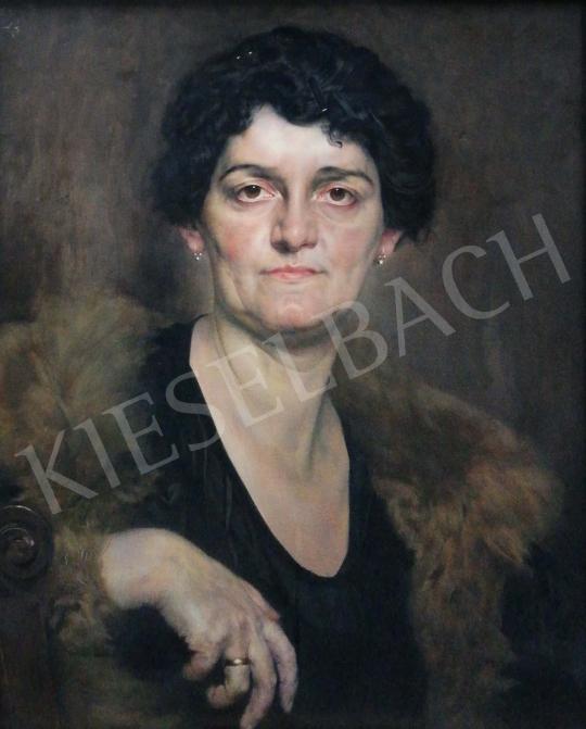 Eladó  Karlovszky Bertalan - Idős hölgy festménye