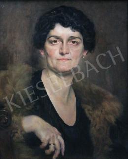 Karlovszky Bertalan - Idős hölgy (1932)
