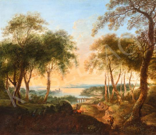 For sale  Brand, Johann Christian - Danube View 's painting
