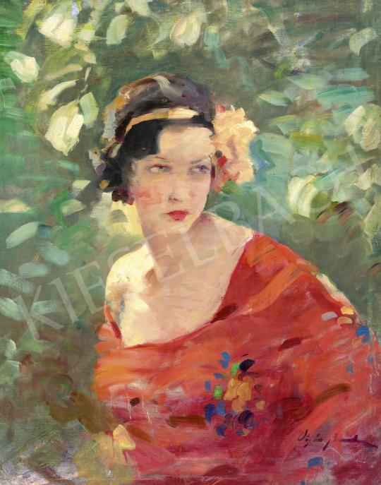 Vígh Bertalan - Fiatal lány (Tavaszi fények) | 61. Tavaszi Aukció aukció / 3 tétel