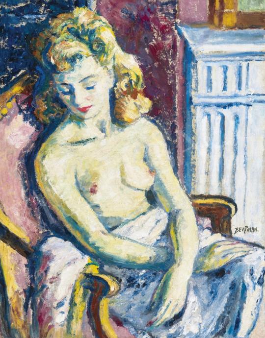 Bertalan Albert - Párizsi modell | 61. Tavaszi Aukció aukció / 4 tétel