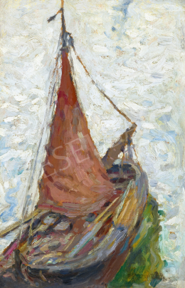 Perlmutter, Izsák - Dutch Sailboat, 1898