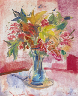 Márffy, Ödön - Bouquet with Lilies, at the beginning of the 1930s