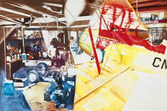 Csernus Tibor - Repülősök, 1970 körül | 61. Tavaszi Aukció aukció / 31 tétel