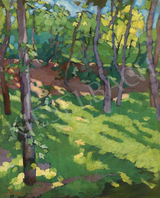 Litteczky Endre - Napfényes tisztás (Nagybánya) | 61. Tavaszi Aukció aukció / 32 tétel