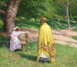 Tagyosi Rátz Péter - Nagybányai parkban, 1908