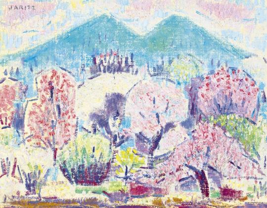 Járitz Józsa - Tavaszi virágzás | 61. Tavaszi Aukció aukció / 37 tétel