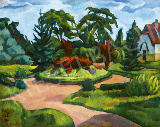 Perlrott Csaba, Vilmos - Park (The Park of the Art Colony), first half of the 1910s | 61st Spring Auction auction / 56 Item