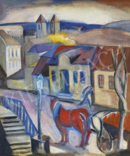 Schönberger, Armand - Buda Scene (Margit Street)