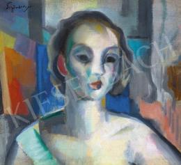 Schönberger Armand - Nő műteremben