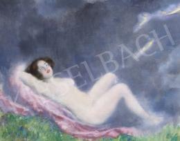 Csók István - Fekvő akt, 1920