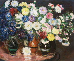 Csók, István - Grand Still Life of Flowers