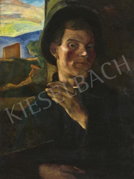 Korda Vince - Önarckép | 61. Tavaszi Aukció aukció / 95 tétel