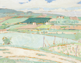 Fényes, Adolf - Hilly Landscape