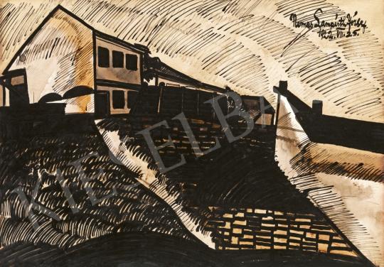 Nemes Lampérth József - Tabáni utca (Horgony utca), 1922 | 61. Tavaszi Aukció aukció / 135 tétel