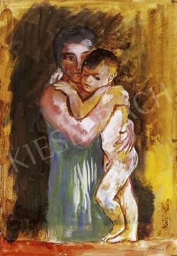 Szőnyi István - Anya gyermekével | 13. Aukció aukció / 1 tétel