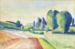 Kmetty, János - Summer Field, 1920s