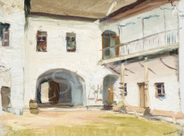 Mednyánszky, László - Castle Interior of Beckó (Mansion House)