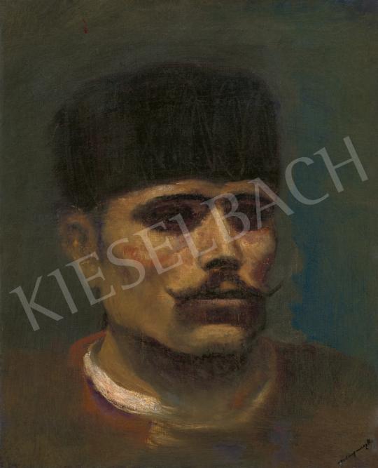 Mednyánszky László - Csavargó arcképe | 61. Tavaszi Aukció aukció / 171 tétel