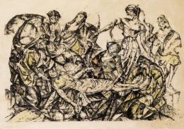 Perlrott Csaba, Vilmos - Biblical Scene
