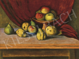 Orbán, Dezső - Studio Still Life with Apples, Pears and Quince