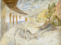 Szőnyi, István - Sunlit Court